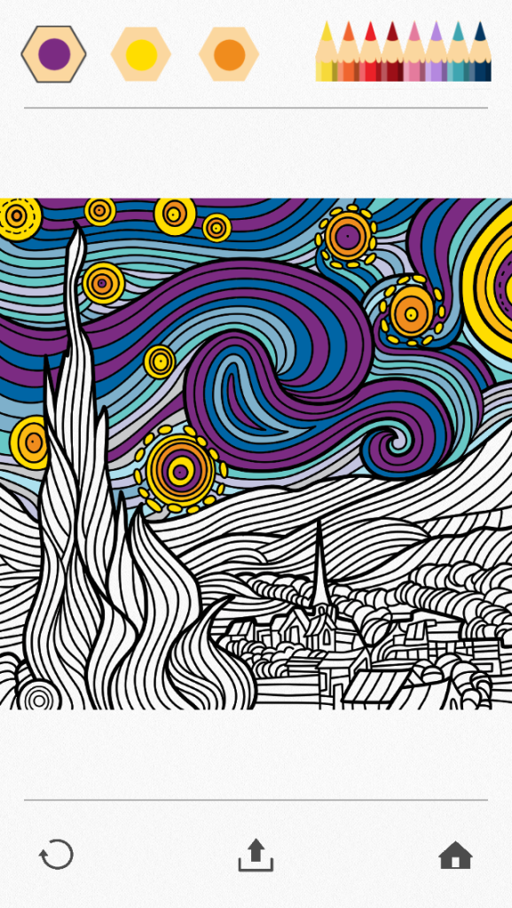Screeshot - Van Gogh in progress