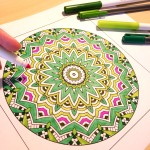 Book Review: Coloring to Calm Volume 1 Mandalas by Shelly Fagundes