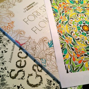 Made to color - a book, a magazine and a printable pdf download